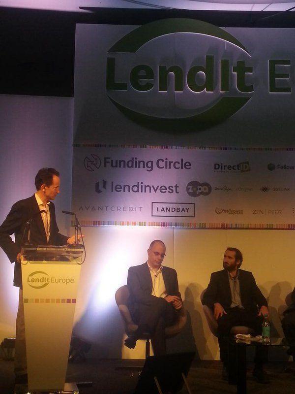 Josep Nebot (arboribus) en LenditEurope 2015