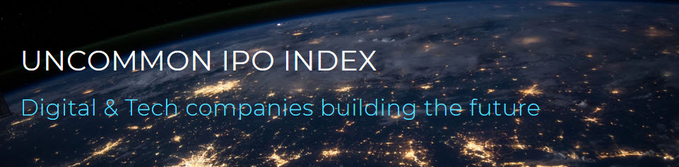 Uncommon IPO index digital and tech companies building the future